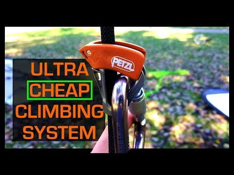 Fast & Cheap Tree Climbing Gear!!!