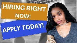 Make $30 An Hr. Now Hiring! Work From Home Jobs