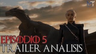 Avance Game of Thrones Temp. 7 Episodio 5 'Blood of the Dragon' - Análisis rápido