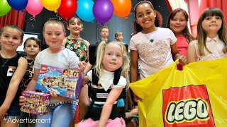 LEGO FRIENDS MISSION!! Tiana's Birthday Party Surprise
