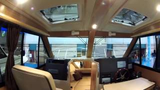 Cutwater 28 Family Cruiser toured at Atlantic City Boat Show by ABK Video