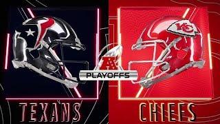 Houston Texans vs Kansas City Chiefs Divisional Round | NFL Full Gameplay 2020 Playoffs