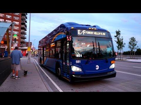 MTA New York City Bus & MTA Bus Company : (E) & (F) Train Subway Shuttle Buses @ Briarwood
