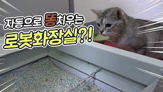 지니 똥 자동으로 치워주는 로봇화장실?! [지니 육아일기] 빅민TV