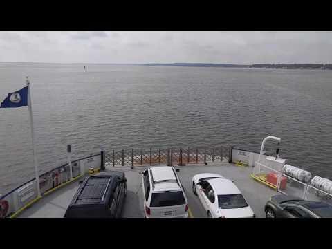 Jamestown Scotland Ferry in Williamsburg Virginia