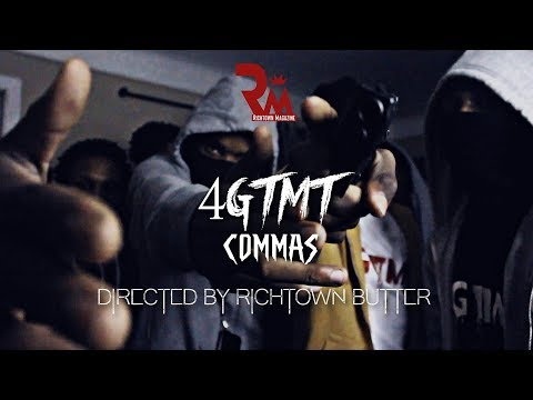 4GTMT - Commas (Official Video) Directed By Richtown Magazine