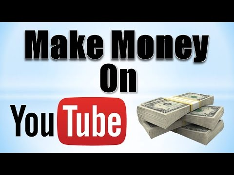 How to Make Money on YouTube! (2016)
