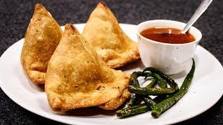 समोसा बनाने का सीक्रेट तरकीब- बाज़ार जैसा पंजाबी आलू समोसे - Easy Aloo CookingShooking Samosa