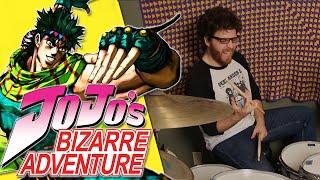 Repeat youtube video JoJo's Bizarre Adventure - Bloody Stream by Coda ll Drum Remix!