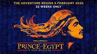 The Prince of Egypt - When You Believe - Dominion Theatre
