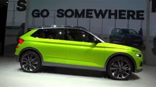 Skoda Vision X Concept  4K |  First Look
