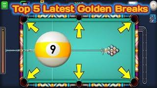 Top 5 Latest Golden Breaks in 9 Ball Pool-Miniclip 8 Ball Pool