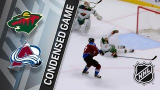 Minnesota Wild vs Colorado Avalanche – Jan. 06, 2018 | Game Highlights | NHL 2017/18. Обзор матча