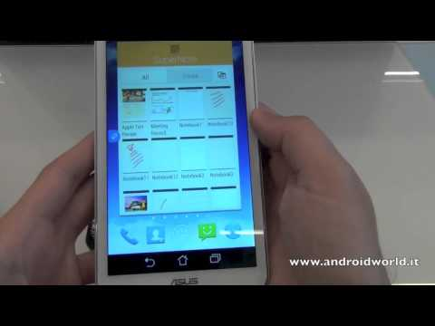ASUS Fonepad Note 6, anteprima in italiano da IFA 2013