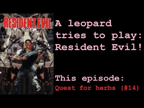 Let's Play Resident Evil - Director's Cut [BLIND] — Quest for herbs. (#14)