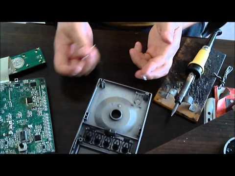 видео: logitech z 5500 ремонт подсветки дисплея. display light repair.