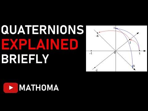 Quaternions Explained Briefly