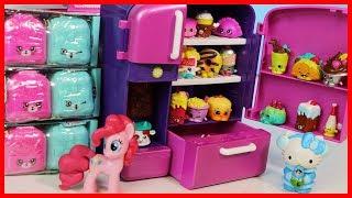 彩虹小馬與凱蒂貓的 shopkins  購物寶貝冰箱玩具