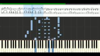 Joe Cocker - You can leave your hat on [Piano Tutorial] Synthesia