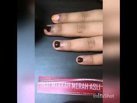 Nail Henna Inai Kuku Malaysia Youtube