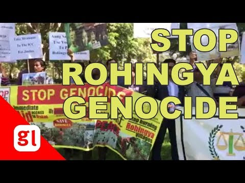 Australians rally for justice, against Rohingya genocide