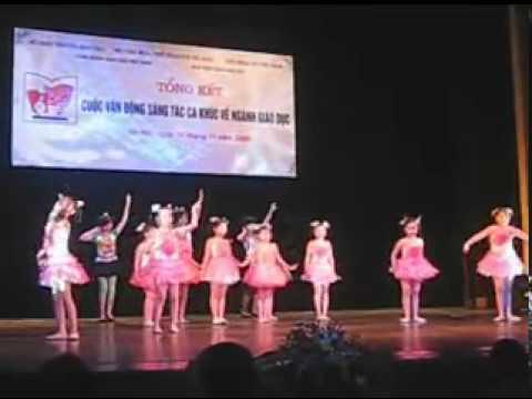 nhảy múa hiện đại CHẮP CÁNH ƯỚC MƠ   YouTube
