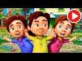 Aram sam sam - Песенки для детей | Nursery Rhymes for Children на русском!