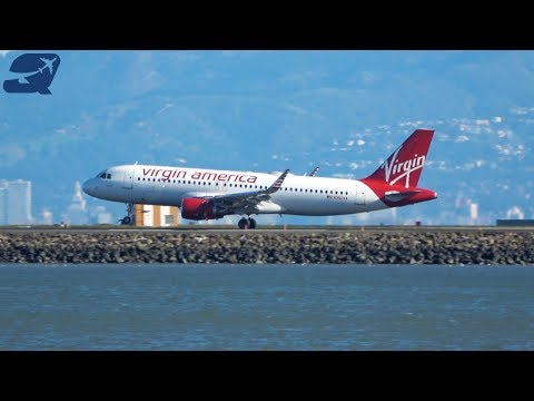 (4K) 35+ Minutes of Plane Spotting - San Francisco International Airport (KSFO)
