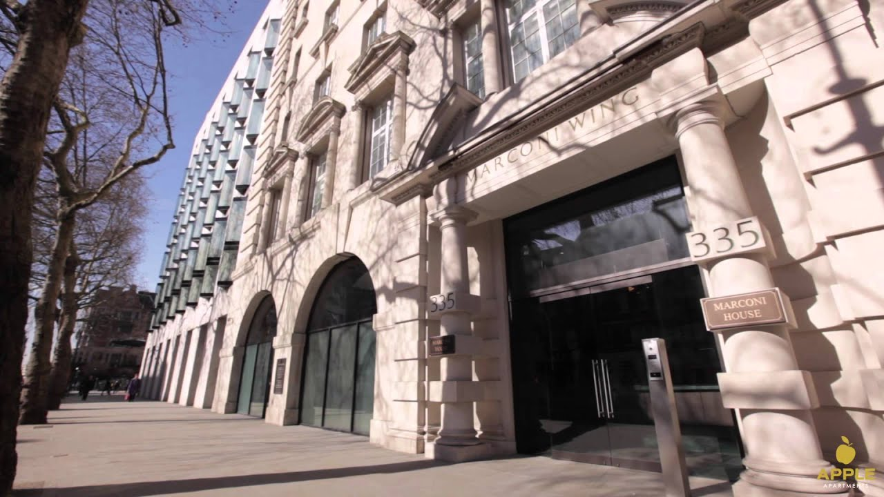 Attrayant WATCH: Apple Apartments The Strand, London