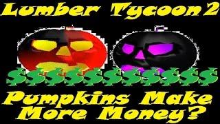 Le zucche in realtà aumentano il tuo denaro?: Tycoon di legname 2 RoBlox