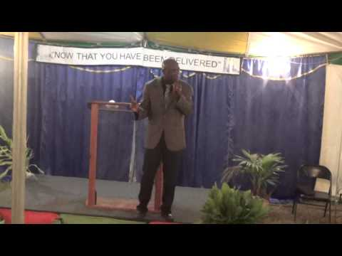 Pastor Dennis Thomas Refuge Temple @ NETA Old Harbour Tent Meeting