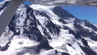 Aerial Tour of Mt. Rainier