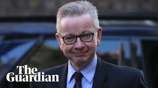 'I believe I can unite this country' says Gove as he joins Tory leadership race