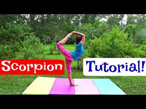 SCORPION TUTORIAL   Self-Taught Gymnast