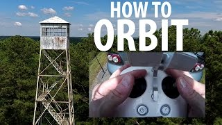 DJI Phantom 4 - How To ORBIT MANUALLY