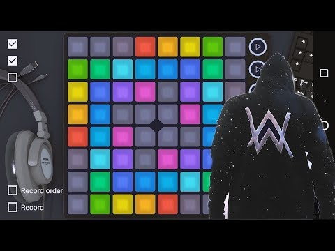 Alan Walker - The Spectre  [UniPad Project File] - Launchpad Cover
