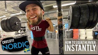 Box Tour to CROSSFIT NORDIC (SQUAT 10KG MORE INSTANTLY - Top 3 Tips)