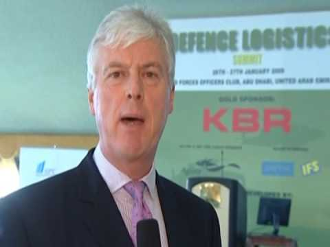 IQPC, Defence Logistics Middle East, Andrew Spinks, Project Director, KBR