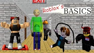 IT JUST MADE ROBLOX STUDIO BETTER!!! | Roblox's Basics in Buliding and Scripting Baldi's Basics MOD