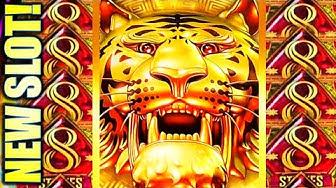 ★NEW SLOT! BIG WIN REDEMPTION!★ 8 STRIPES & 8 CLAWS Slot Machine Bonus (Aristocrat)