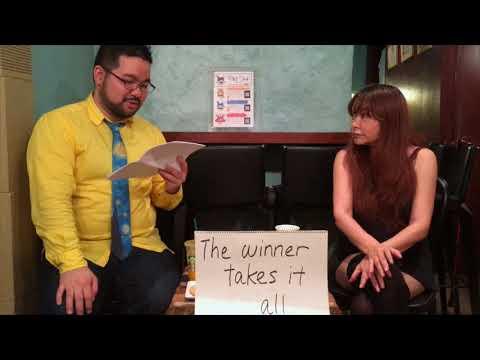 「うさぎとそうしの英会話レッスン」 lesson 30 -「The winner takes it all」前編 自嘲的つぶやき