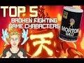 Top 5 Broken Fighting Game Characters