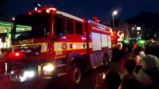 Cape Town Carnival Firefighters in South Africa