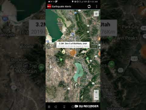 earthquake in bluffdale utah