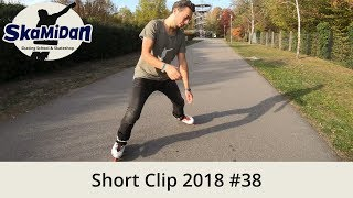 How To Spread Eagle Spinout On Inline Skates — Short Clip 2018#38