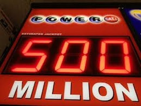 GUY FROM CAMBRIDGE MARYLAND WINS POWER BALL FOR $500 MILLION  MEGA MILLION!!!