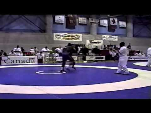 2000 Junior National Championships: 69 kg Jake Pesper vs. Josh Powell