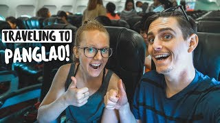 Flight, Boat, & Taxi From MANILA to PANGLAO! (Philippines Travel Day)