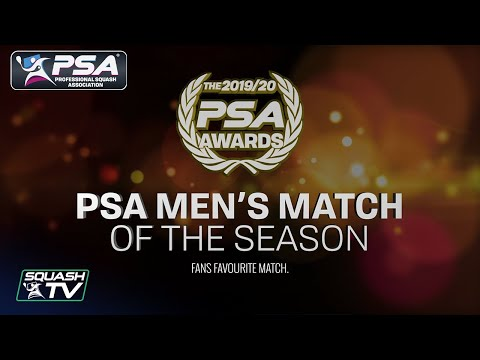 PSA Men's Match Of The Season 2019/20 Nominees