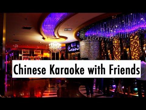 UNI VLOG CHINA: Chinese Karaoke with Friends // 中国生活:去卡拉OK唱歌